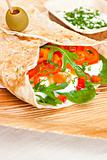 Wheat wraps.