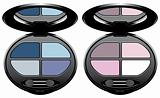 multicolored eye shadows