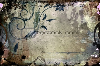 Grunge frame for your images