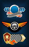 Racing symbols and icons