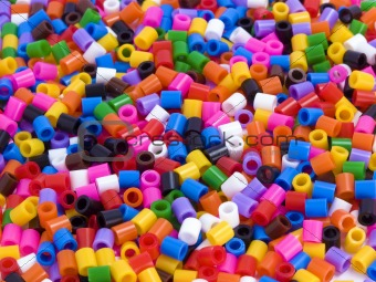 Beads for background