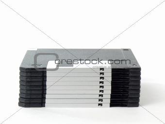 Black floppy disks