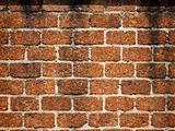 Walls made of laterite stone