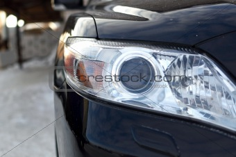 Automobile front optics