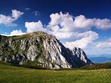 Rock in  Alps