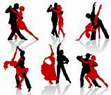 Tango silhouettes