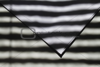 Abstract picture of shadow and light strips