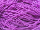 Violet synthetic yarn