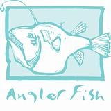 Anglerfish in Blue