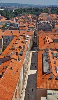 Zadar's rooftops