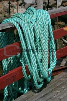 Green Marine Rope