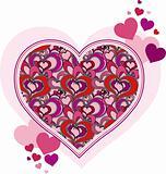 love heart valentine