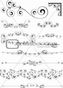 page decoration ornaments