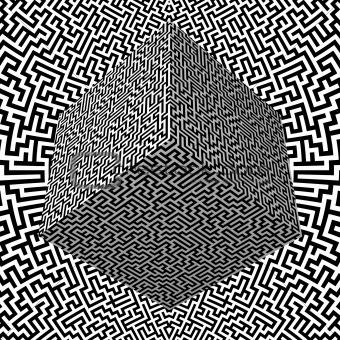Maze Block and Maze Background