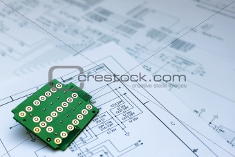 circuit board and circuit diagram