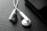 earphones and portable music,video player