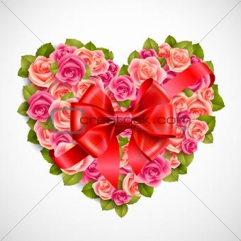 Valentine`s day illustration