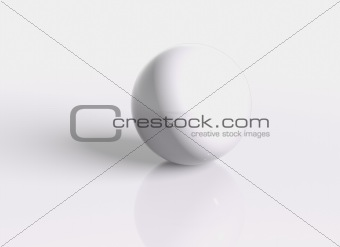 3D render ball