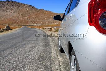 road trip to mountains