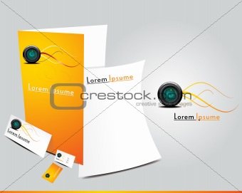 abstract brochure icon