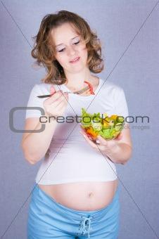 Pregnant eats