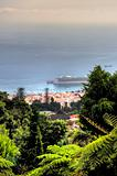 View from Monte Palace Tropical Garden - Funchal, Madeira