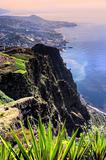 South coast of Madeira island, view from Cabo Girao