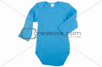 Blue clothes for baby