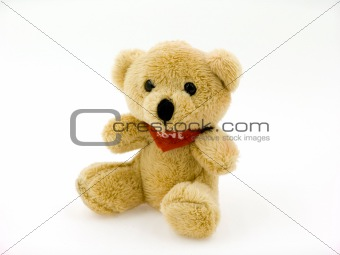 Small toy bear