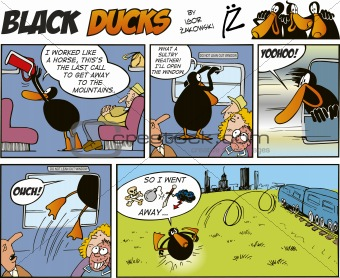 Black Ducks Comics episode 30