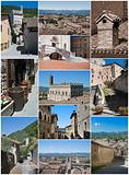 Gubbio collage.