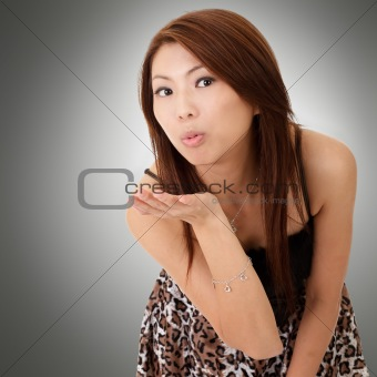 Asian young beauty