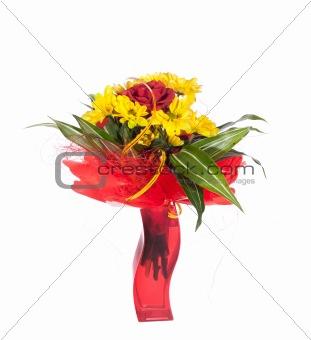 Bouquet of fresh flower