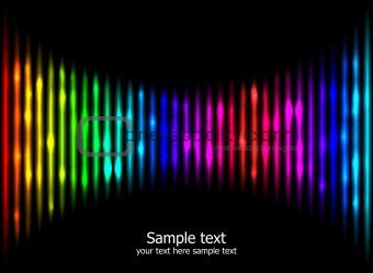 Abstract rainbow colours background eps10