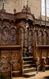 The Choir Stalls of San Marcos Convent. Leon, Spain