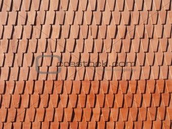 A shingle texture