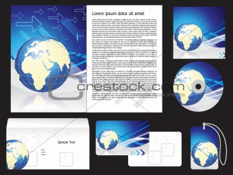 abstract corporate id
