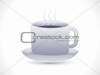 abstract hot tea icon