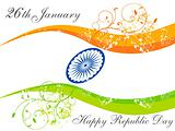 abstract republic day wallpaper