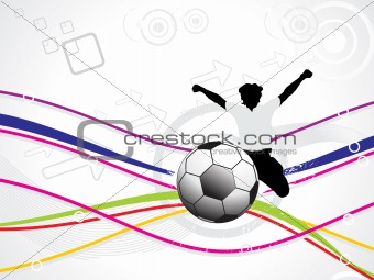 abstract sports background