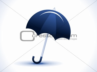 abstract umbrella icon