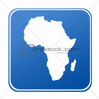 Africa map button