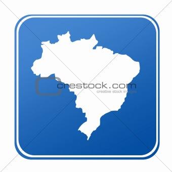 Brazil map button