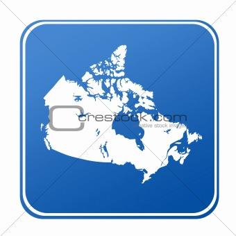 Canada map button