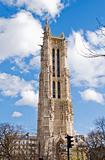 The tower of Saint-Jacques-la-Boucherie in Paris