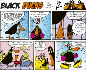 Black Ducks Comics episode 33