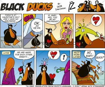 Black Ducks Comics episode 39