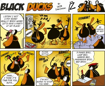 Black Ducks Comics episode 47