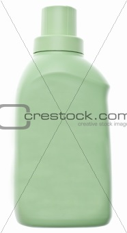 Green Laundry Cleaning Bottle