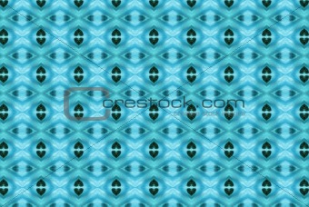 Blue abstract kaleidoscope background